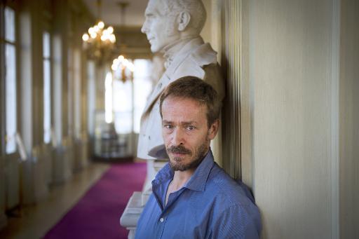 L'administrateur de la Comédie-Française, Eric Ruf, le 17 juillet 2014 à la Comédie-Française à Paris © Martin Bureau AFP/Archives