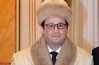 François Hollande et son homologue azerbaïdjanais Noursoultan Nazarbaïev. ©Capture d'écran Twitter