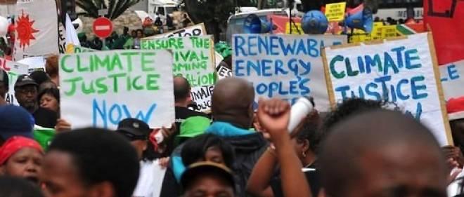 Justice climatique : l'Afrique frappe du poing sur la table