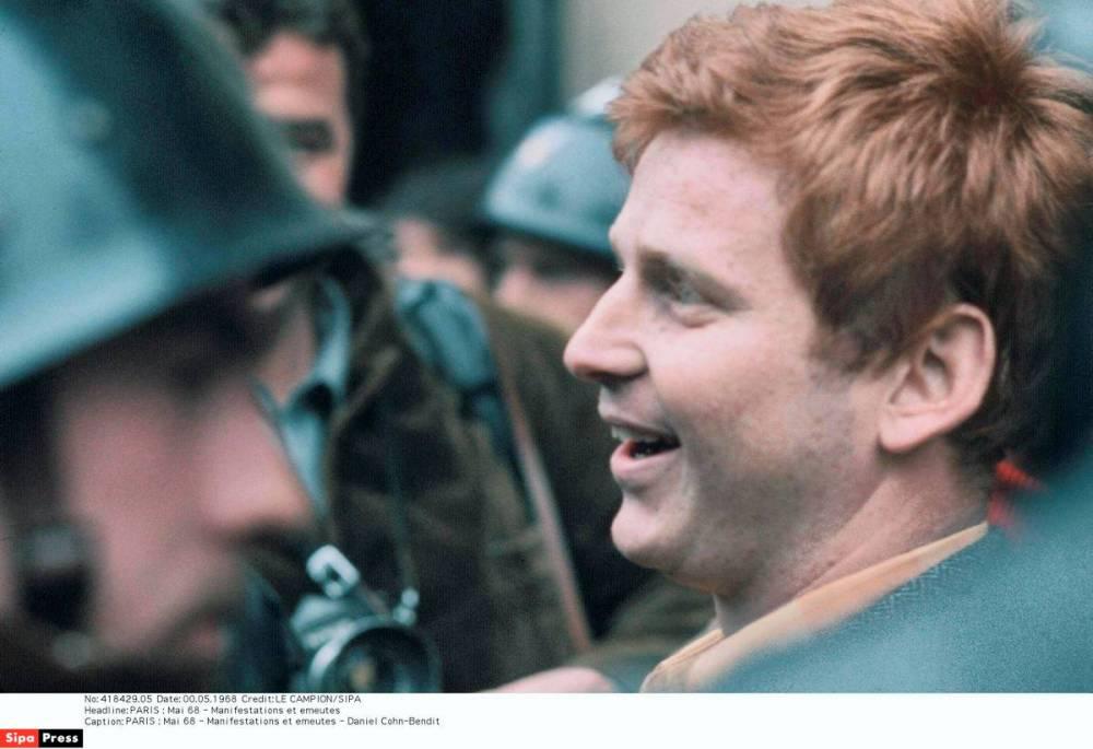 Daniel Cohn Bendit en mai 68 ©  Sipa