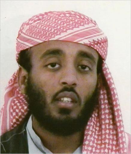 Photo non datée de Ramzi bin al-Shibh, l'homme clé présumé de tentatives d'attentats contre l'aéroport d'Heathrow et Canary Wharf à Londres © Ho FBI/AFP/Archives