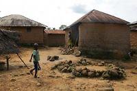C'est dans le village de Melliandou en Guinée que tout le premier cas du virus Ebola a été signalé. ©Solène Chalvon