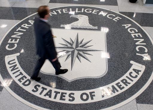Le hall du siège de la CIA à Langley, en Virginie, le 14 août 2008 © Saul Loeb AFP/Archives