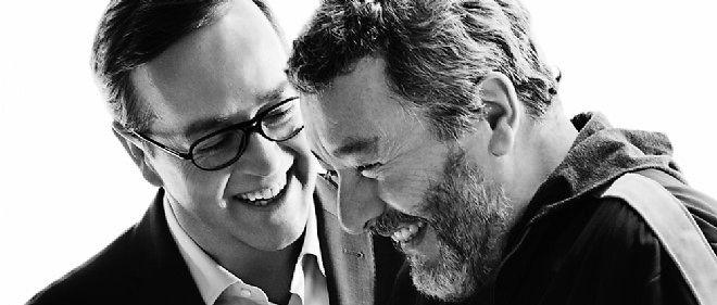 Frédéric Rouzaud et Philippe Starck. Une collaboration qui a donné naissance au Brut nature Starck 2006.