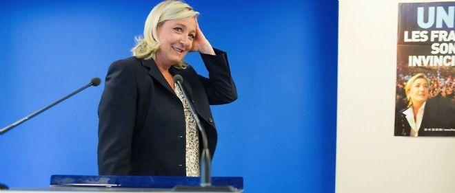 La présidente du FN Marine Le Pen sera candidate à l'Élysée en 2017.