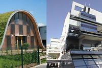 La villa de l'architecte Patrick Nadeau, en forme de vague et, Rue des Moulins construit en 1993. ©DR - Plurial L'Effort Rémois
