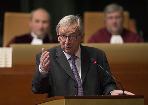 Le président de la Commission européenne Jean-Claude Juncker le 10 décembre 2014 à Luxembourg © John Thys AFP/Archives