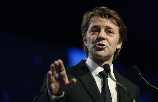 L'ex-député UMP de Troyes, devenu sénateur, François Baroin, le 27 novembre 2014 à Paris © Stéphane de Sakutin AFP/Archives
