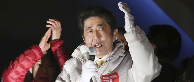 Legislatives au Japon : large victoire du Premier ministre Abe