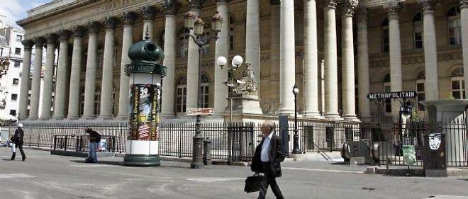 Photo d'illustration. La Bourse de Paris.