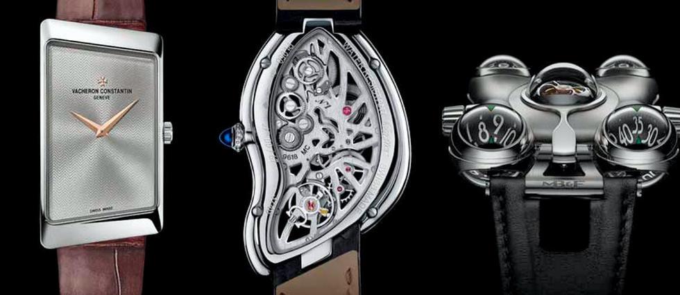 Le meilleur des montres asymétriques et chics.