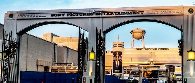 L'entrée des studios Sony Pictures Entertainment, en Californie.