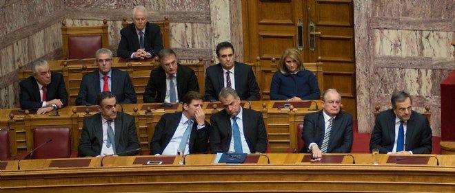 Le Parlement grec.