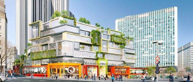 L'architecte Winy Maas a déjà planché sur une esquisse de projet.