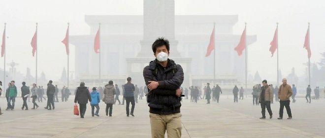 Une scène effroyable de pollution en Chine.