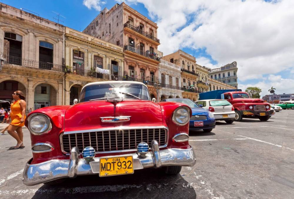 Les Chevrolet sont surabondantes mais toutes les marques des années 50nsont représentées ©  DR