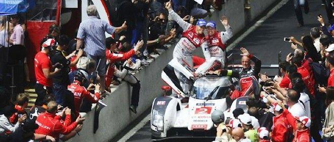 La victoire d'Audi, assurément l'un des moments les plus forts de la 82e édition des 24 Heures du Mans.