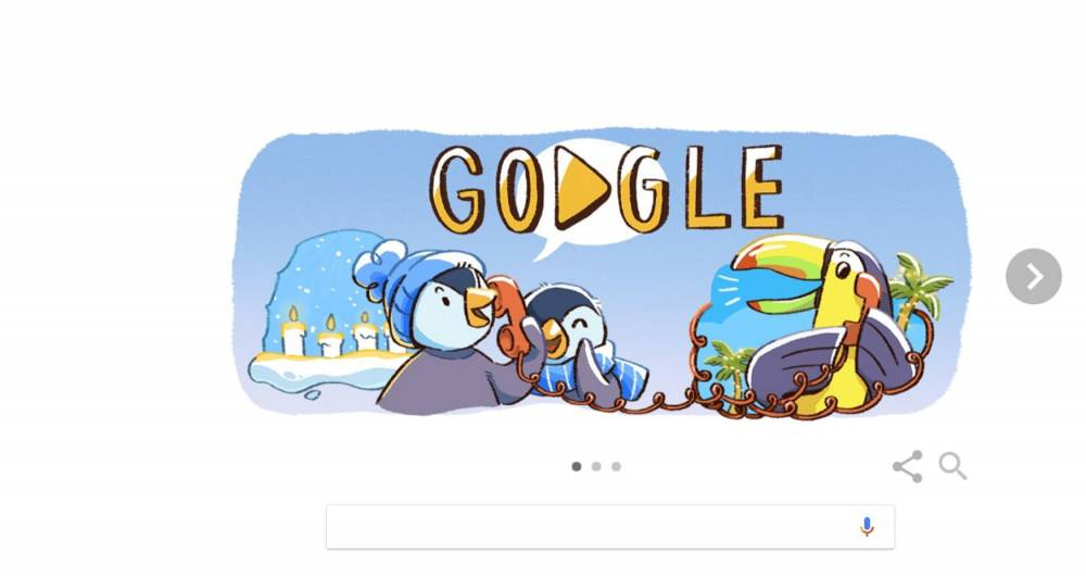 Doodle ©  Google