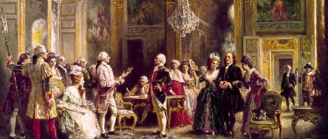 """Résultat de recherche d'images pour """"Louis XVIet Benjamin Franklin"""""""