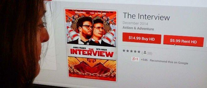 """""""The Interview"""" a été descendu par la critique."""