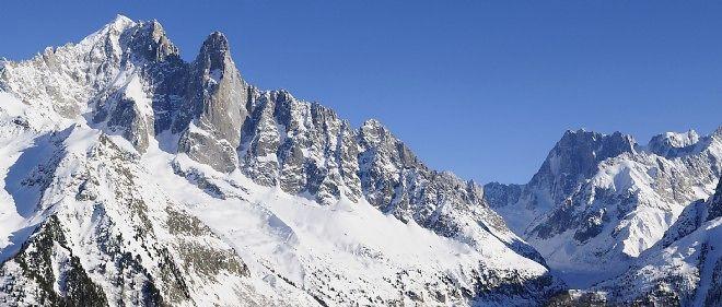 Photo d'illustration. Le massif du Mont-Blanc.