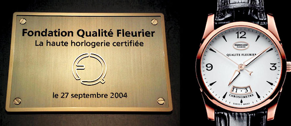 Operation seduction pour Qualite Fleurier