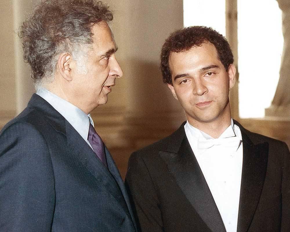 Serge et Pierre Moscovici en 1984 ©  collection personnelle