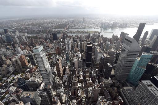 Vue générale de New York le 15 octobre 2014 © Timothy A. Clary AFP/Archives
