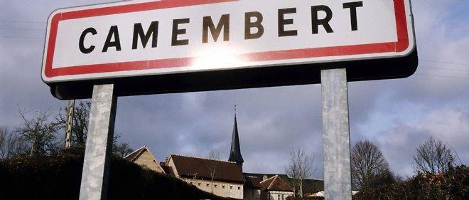 Le village de Camembert, dans l'Orne, en Normandie.