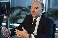 Gabriel Matzneff s'insurge contre le fait que Pierre Moscovici écrive en anglais dans une lettre adressée au ministre des Finances Michel Sapin. ©Saul Loeb