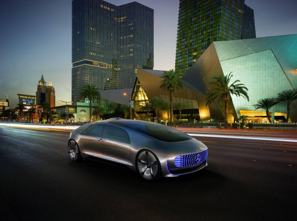 Las Vegas et le CES constituent le cadre ideal pour révéler ce genre de projet ©  Daimler