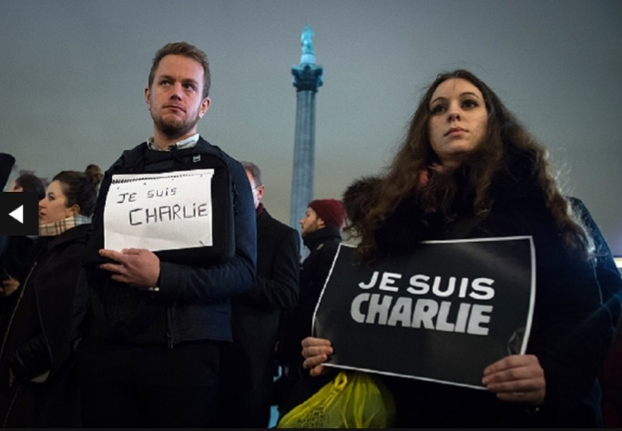 Rassemblement de soutien à Londres. © Leon Neal AFP