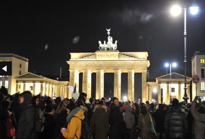 Rassemblement à Berlin © Cuneyt Karadag Anadolu Agency