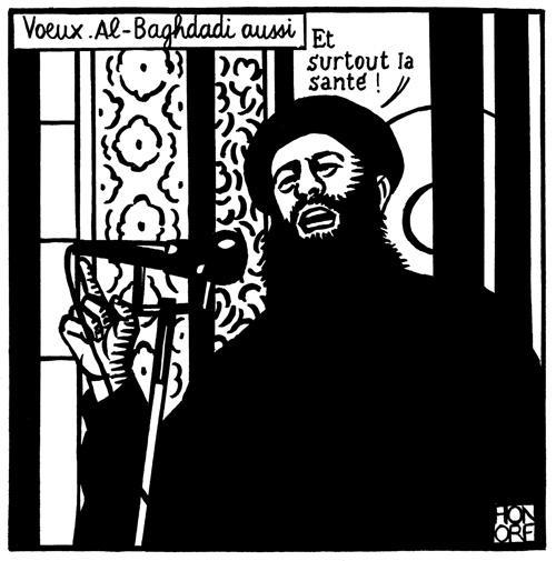 Le dernier dessin de Philippe Honoré ©  Honoré/Charlie Hebdo