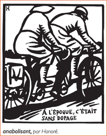 """""""Anabolisant"""", illustré par Honoré ©  Honoré/Larousse"""