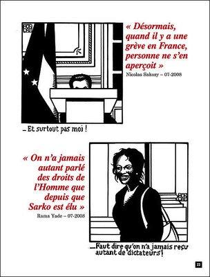 """Une page de """"Je hais les petites phrases"""" ©  Les Échappées belles"""