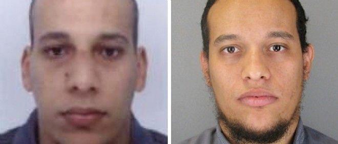 """Chérif et Saïd Kouachi, les auteurs de l'attentat de """"Charlie Hebdo"""", ont tué 12 personnes."""