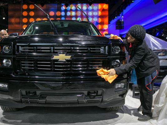 Le Chevrolet Silverado revient en cour, comme tous les pick-ups et 4X4, à la faveur de la baisse de l'essence ©  DR