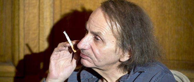 """""""Charlie Hebdo"""" : Michel Houellebecq ému aux larmes (image d'illustration)."""