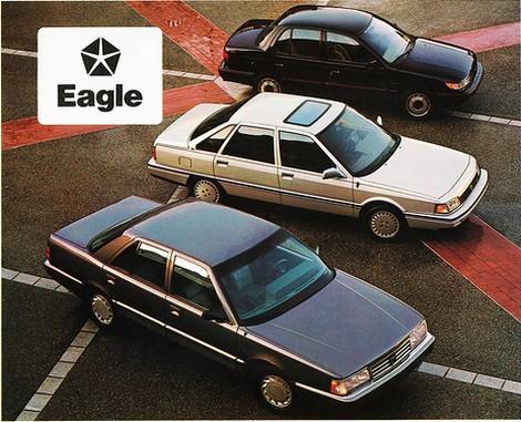 Dérivées de la SaFrane et de la R21, les Eagle eurent une carrière chaotique ©  Eagle