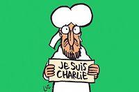 La une du nouveau numéro de Charlie Hebdo, publié après l'attentat du 7 janvier