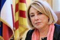 Maryse Joissains, la maire d'Aix-en -Provence, refuse que sa ville paye pour les dettes de Marseille. ©ANNE-CHRISTINE POUJOULAT