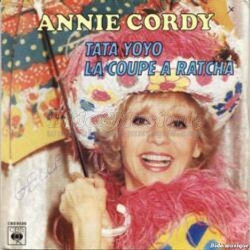 "Le 45 T d'Annie Cordy ""Tata Yoyo"" (1980)"