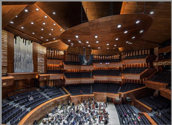 Le grand auditorium de Radio France