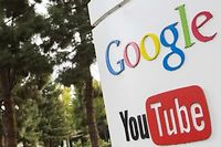 YouTube appartient à Google. ©TRIPPLAAR/SIPA