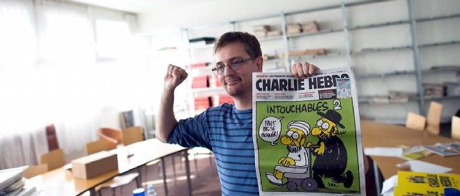 Charb tue le 7 janvier 2015. Photo d'illustration.