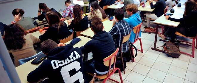 Dans une ecole classee en Zep en 2012 (photo d'illustration).