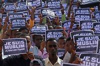 Les musulmans, rejoint par le pape François, n'apprécient pas le blasphème : faut-il s'en étonner ? demande Jacques-Alain Miller. ©Mohamed Abdiwahab/AFP