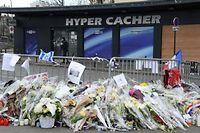 Dimanche 18 janvier, neuf personnes sont toujours en garde à vue, dans le cadre de l'enquête sur les attentats à Paris. ©BERTRAND GUAY / AFP