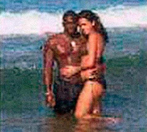 Amedy Coulibaly et sa femme Hayat Boumedienne, en janvier 2009 en République dominicaine ©  DR